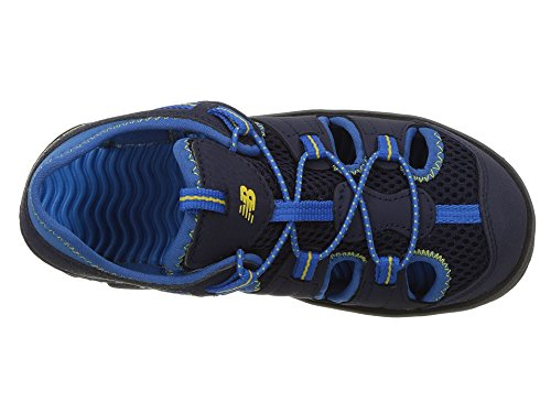 New Balance Boys' Kids Adirondack Fisherman Sandal, Navy/Blue, 7 M US Toddler
