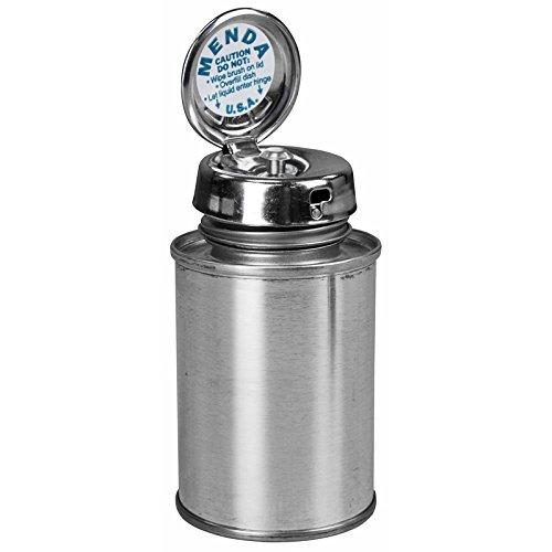 MENDA 35255 Tin/Steel/Ldpe/Low-Density Polyethylene Dispensing Bottle, Pure-Take Liquid Dispenser Pump, Tin Can, 4 oz, 6 fl. oz. Capacity (Pump Menda)