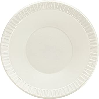 SOLO 12BWWCR Concorde Non-Laminated Polystyrene Foam Bowl, 12 oz.  Capacity, White (Case of 1,000)