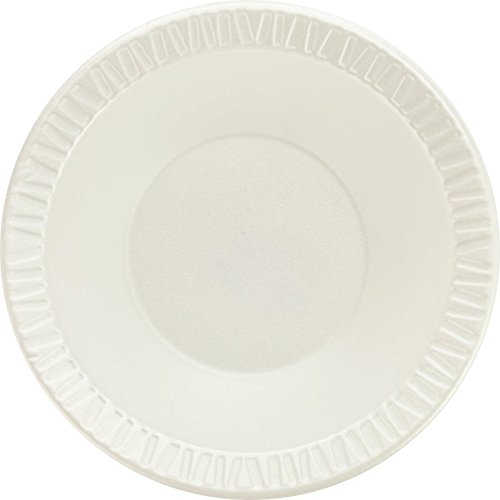 Dart 12BWWCR 10-12 oz White Unlaminated Foam Bowl (Case of ()