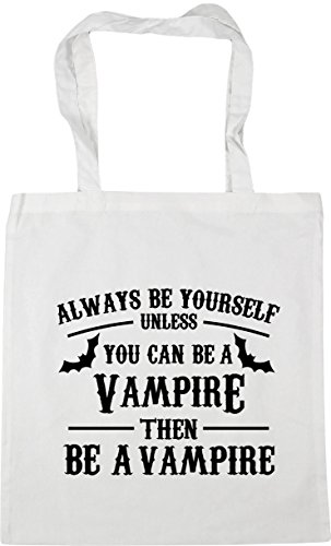 42cm Shopping vampire 10 then Bag be Tote unless be Always can be you HippoWarehouse a yourself vampire Beach White Gym litres a x38cm cq6UzRSw8x
