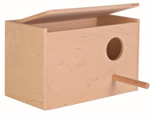 Bird Nesting Box (Trixie Pet Budgie Breeding Nesting Bird Avery Cage Box Smaller)