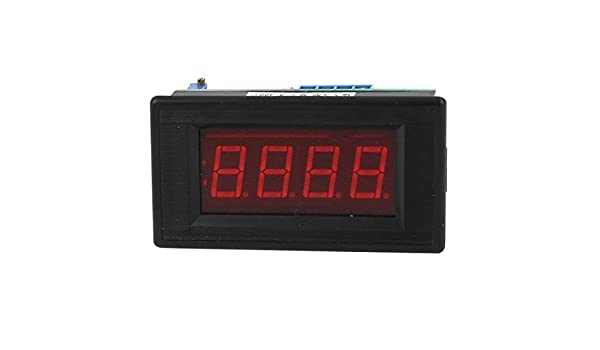 Amazon.com: LED rojo DC5V Display 0-400C metro de la temperatura K Tipo Termómetro de panel: Kitchen & Dining