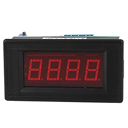 LED rojo DC5V Display 0-400C metro de la temperatura K Tipo Termómetro de panel