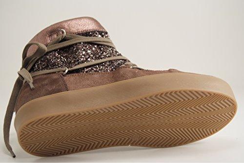Boots femme chaussures Doublée Reqins taupe Marron 4Fd76wzcWq