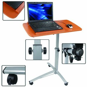 Amazon Com Adjustable New Angle Amp Height Rolling Laptop