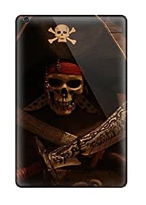 AndreaPope Ipad Mini/mini 2 Hybrid Tpu Case Cover Silicon Bumper Attractive Pirates Skull Halloween Other