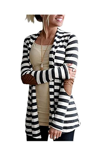 Shawl Collar Jacket In Black And White - 3