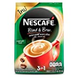 Nescafe 3 in 1 Espresso Roast Instant Coffee 486 G. (18 G. X 27 Sticks)