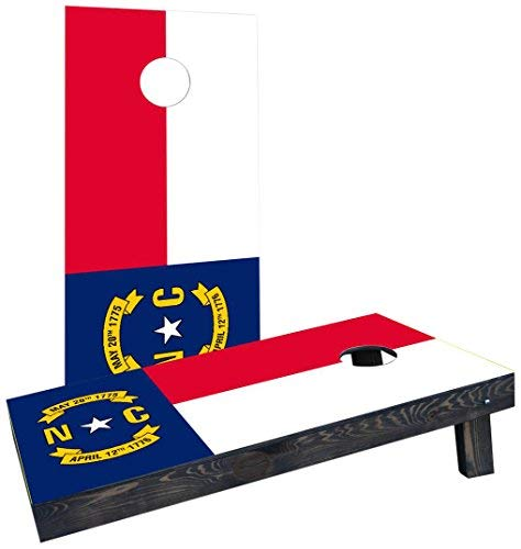 日本限定 Custom Flag Cornhole Boards Incorporated Incorporated CCB233-2x4-AW-RH North Custom Carolina State Flag Cornhole Boards [並行輸入品] B07HLFN7Y9, ミクニチョウ:8879478e --- classikaplus.ru