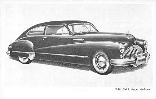 1946 Buick Super Sedanet Automobile Car Advertising Vintage Postcard JA4742699