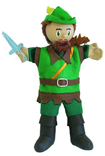 Au Sycomore - MA35010 - Marionnette à Main 35 cm - Robin des Bois