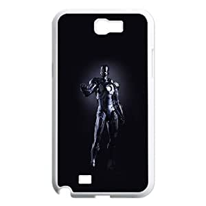 Samsung Galaxy N2 7100 Cell Phone Case White al99 ironman dark figure hero art avengers OJ483427