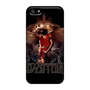 Iphone 5/5s Ukv7890nlww Special Colorful Design Led Zeppelin Image Perfect Hard Cell-phone Case -DrawsBriscoe
