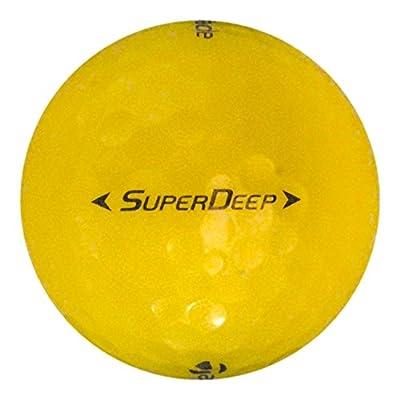 TaylorMade 48 Super Deep Yellow - Mint (AAAAA) Grade - Recycled (Used) Golf Balls