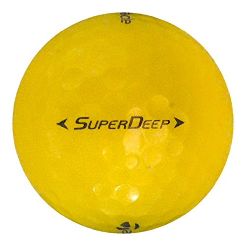 Taylormade Pre Owned - TaylorMade 12 Super Deep Yellow - Value (AAA) Grade - Recycled (Used) Golf Balls