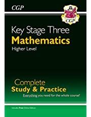 New KS3 Maths Complete Study & Practice - Higher (with Online Edition) (CGP KS3 Maths)
