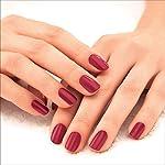 Lakmé 9 to 5 Primer + Gloss Nail Colour, Ruby Rush, 6 ml