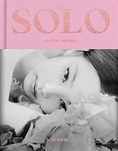 Black Pink JENNIE Solo PHOTOBOOK Special Edition Photobook + Photocard + Sticker Set + Name Sticker + Double Sided Folded Poster + Extra Photocards