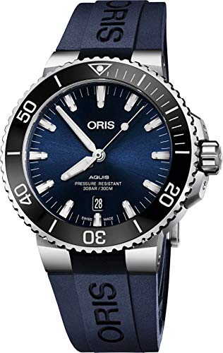 Oris Diving Analog Blue Dial Men's Watch – 01 733 7730 4135-07 4 24 65EB