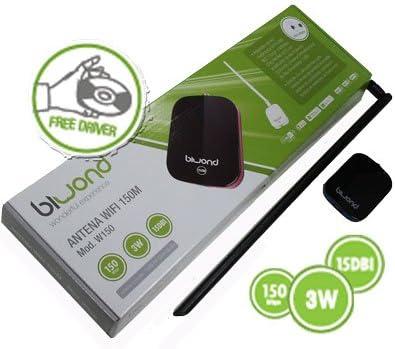 Desconocido Tarjeta Red Alfa WiFi USB 3 W + Antena 18DBi: Amazon ...