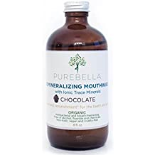 Purebella Remineralizing Mouthwash with Ionic Trace Minerals Chocolate Flavor (Chocolate)