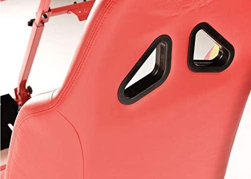 Monza GT Performance Game Seat voor pc en game consoles in rood & grijs hard dragen kunstleer