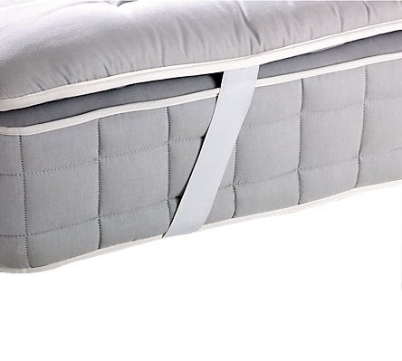 Mattress Topper Bed Pad Cover Hypoallergenic Soft Pillow