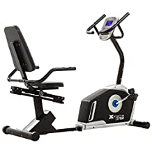 Xterra SB150 Magnetic Recumbent Exercise Bike for Home Gym | 23 Programmable Workout Options with 24 Levels of Computerized Resistance
