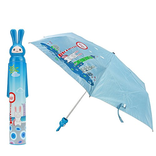fakeface-novelty-womens-ladies-girls-vase-shaped-bottle-three-folding-umbrella-with-rabbit-handle-an