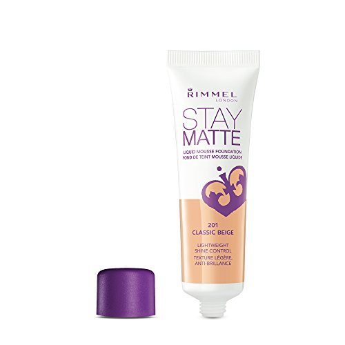 Rimmel Stay Matte Foundation, Classic Beige, 1 Fluid Ounce
