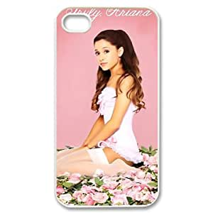 Customize Famous Singer Ariana Grande Back Case for iphone 4 4S Designed by HnW Accessories