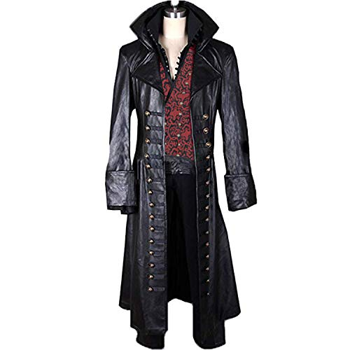 AGLAYOUPIN Adult Hook Killian Jones Cosplay Attire Suit