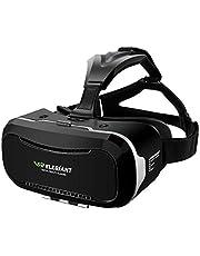 Casque VR, ELEGIANT Lunettes Réalité Virtuelle Headphone Headset 3D avec L'écran 4.0-6.0 pouces Compatibles avec iPhone 8 7 Samsung Galaxy S8 S7 Smartphones Android Iphone pour Films Jeux Vidéos