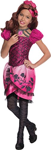 Rubies Ever After High Child Briar Beauty Costume, Child Large Ages 8 -10 Years ()