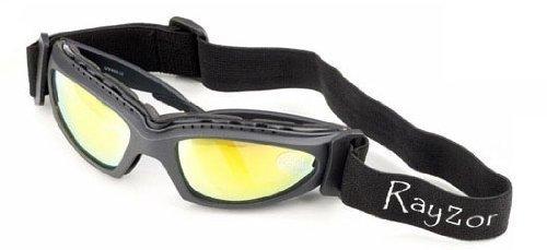 2013 Rayzor Professional UV400 GunMetal Grey 2 In 1 Cycling MTB Sunglasses / ... SjkZ35