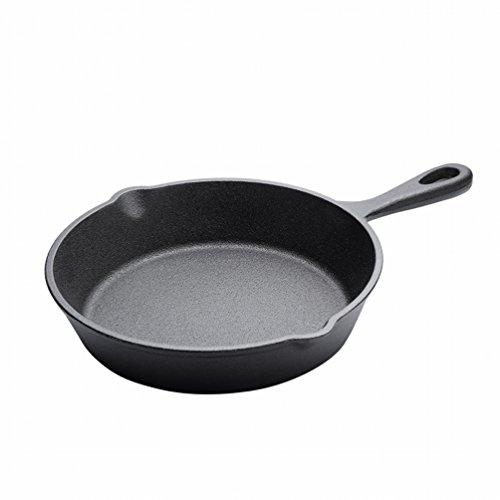 HLL Cocina de Gas de la Omelette del Pote del Filete de la Cacerola del Fregadero de la Parte Inferior Plana de Los 20cm...