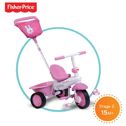 Fisherprice Smart Trike - Triciclo, color rosa: Amazon.es: Juguetes y juegos