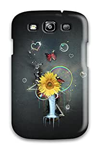 Hot New Fashionable Cover Case Specially Made For Galaxy S3(psychedelic) 9EVDA8H1D0DII7F3
