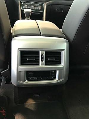 Carbon Fiber Interior Seat handle cover trim For VW Atlas Teramont 2017 2018
