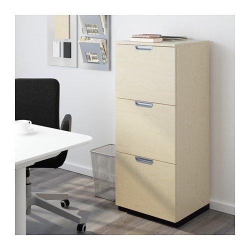 Ikea File cabinet, birch veneer 34210.22014.28 ~ Vertical ...