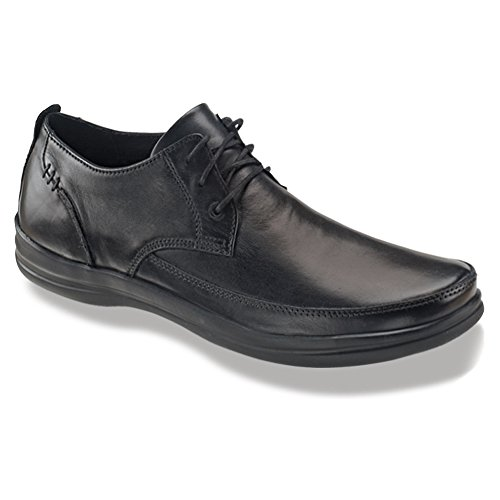 Aetrex Men's Dale Classic Lace Oxford, Black, 13 M (Aetrex Mens Dress)