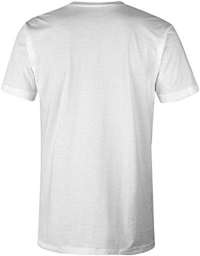 PI ★ V-Neck T-Shirt Männer-Herren ★ hochwertig bedruckt mit lustigem Spruch ★ Die perfekte Geschenk-Idee für Geburtstag, Vatertag oder zum Jubiläum