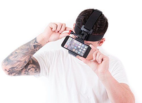[Sports Action Head Mount Camera for Your Smartphone] (Social Media Sites Costumes)