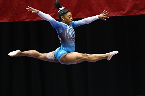 (Simone Biles Sports Poster Photo Limited Print Sexy Celebrity USA Olympic Gymnastics Athlete Size 24x36 #1)