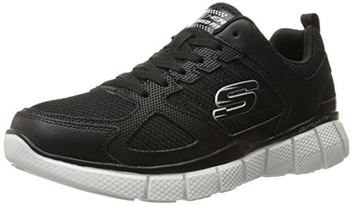 - Skechers Sport Men's Equalizer 2.0 True Balance Sneaker,Black/White,8 M US