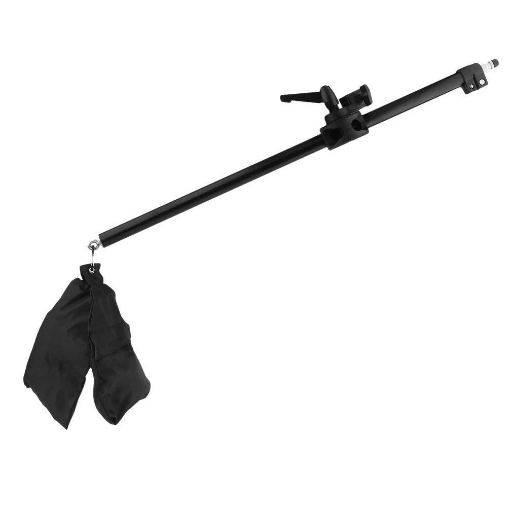 Supporto per fotocamera con braccio telescopico braccio telescopico con supporto per foto in studio (colore: nero) FairytaleMM