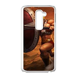 LG G2 Cell Phone Case White League of Legends Ruthless Pantheon LWY3592781KSL