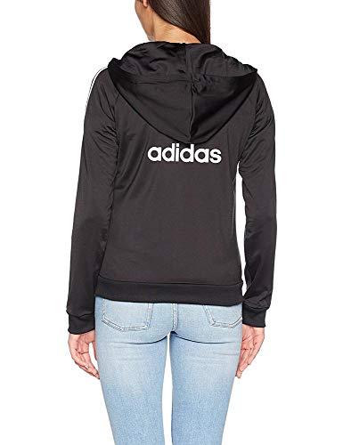 Slim Fz Adidas Donna Felpa Nero qPzAd