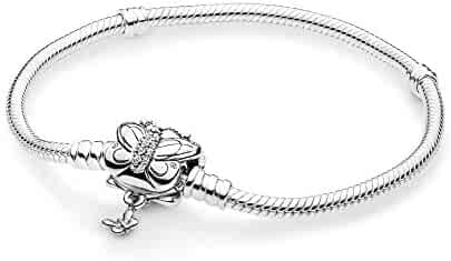 e0917956e PANDORA Decorative Butterfly 925 Sterling Silver Bracelet - 597929CZ
